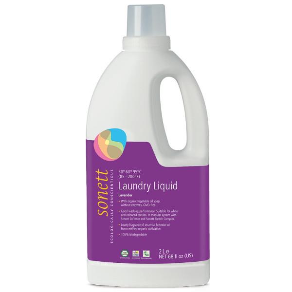 Sonett Tekutý prací gel na bílé a barevné prádlo 2 l