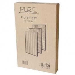 Kompletní sada filtrů pro čističku vzduchu Airbi PURE