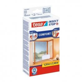 Síť proti hmyzu do oken Tesa Insect Stop COMFORT na francouzská okna