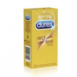 Bezlatexové kondomy DUREX RealFeel