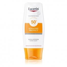 Eucerin Extra lehké mléko na opalování Sensitive Protect SPF 50+ 150 ml