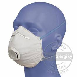 Filtrační obličejové masky s výdechovým ventilkem Spiro