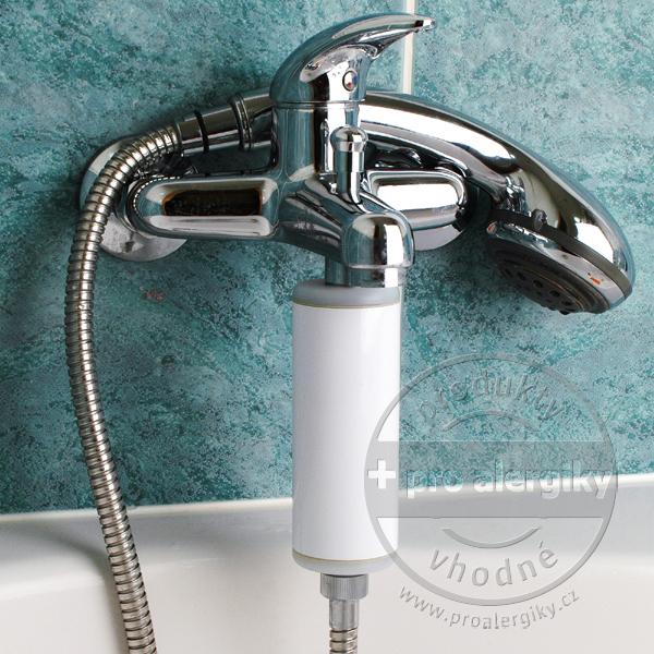 HomeDoctor sprchový filtr - matný kov