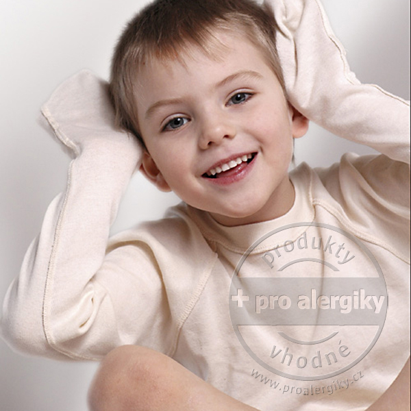 Rukavicové tričko MOTÝLEK Motýlek, velikost 74/80 DermaProtec