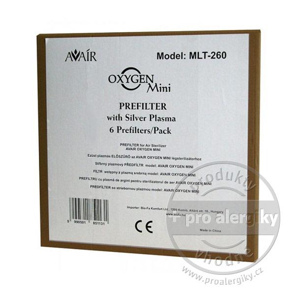 Sada předfiltrů pro čističku vzduchu Avair Oxygen mini - 6 ks