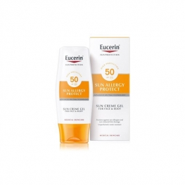Eucerin Ochranný krémový gel na opalování proti sluneční alergii SPF 50