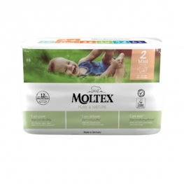 Plenky Moltex Pure & Nature – Mini 3–6 kg (38 ks)