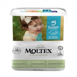 Plenky Moltex Pure & Nature – Junior 11–25 kg (25 ks)