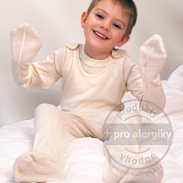 Pyžamová sada pro ekzematiky sada, velikost 74/80 DermaProtec