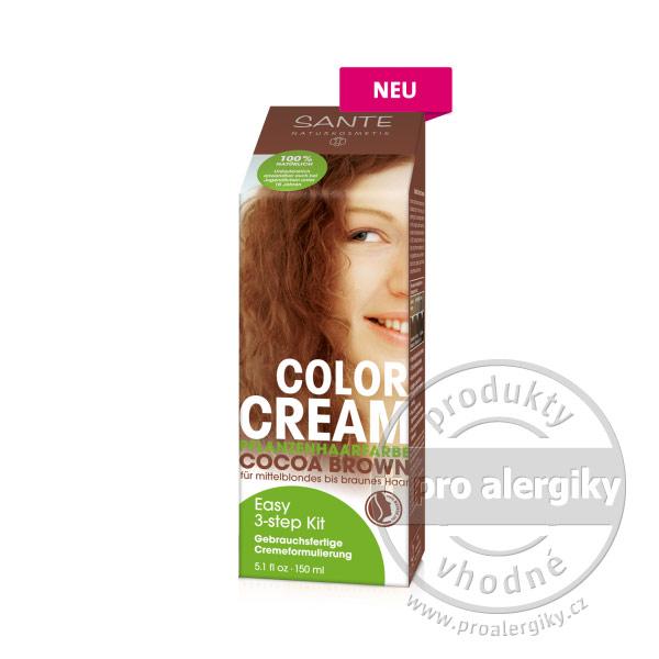 SANTE Rostlinná krémová barva Kakaově hnědá