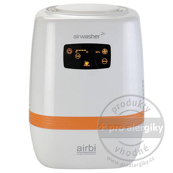 Diskový zvlhčovač vzduchu s ionizátorem Airbi Airwasher