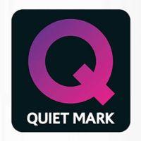 Dyson logo Quiet Mark