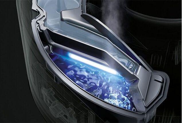Zvlhčovač vzduchu Dyson AM10 - UV technologie