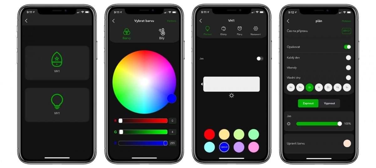 Mobilní aplikace VOCOlinc