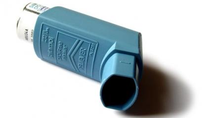 Aerosolový dávkovač léků je celosvětovým symbolem astmatu