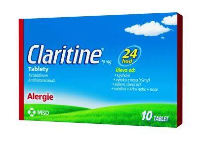 Volně prodejná antihistaminika v tabletách
