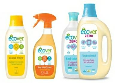 Ekologické čisticí a prací prostředky Ecover, řada Ecover ZERO je speciálně určená pro osoby s citlivou a atopickou pokožkou