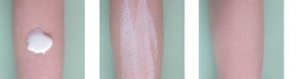 Krém A-DERMA Exomega aplikovaný na ruce