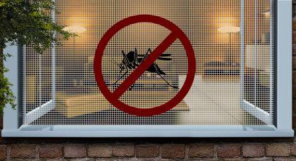 Sítě proti hmyzu do oken či dveří můžete instalovat samostatně nebo včetně rámu
