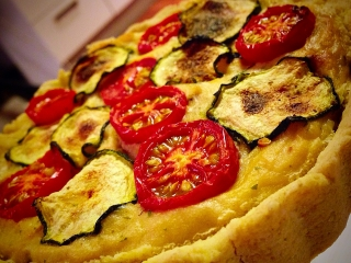 Zeleninový quiche