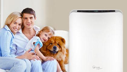 Při alergii na psa vám bude čistička vzduchu věrným a spolehlivým společníkem