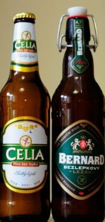 Bezlepková piva Celia a Bernard