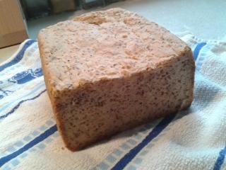 Bezlepkový chléb s chia semínky od Radky