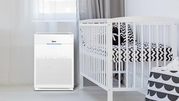 Čistička vzduchu Winix ZERO Pro je vybavená citlivými senzory jemného prachu a nebezpečných plynů
