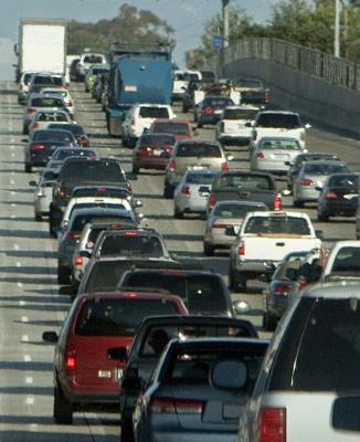 Hlavním zdrojem znečištění je na mnoha místech doprava