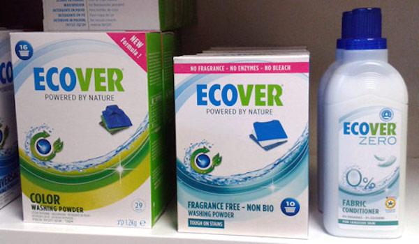 Prací prostředky Ecover (ilustrační foto)