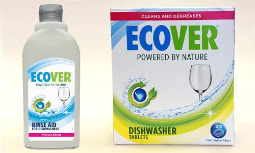 Ekologické přípravky do myčky nádobí