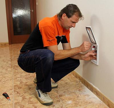 Instalaci může provést odborná firma nebo sám zákazník