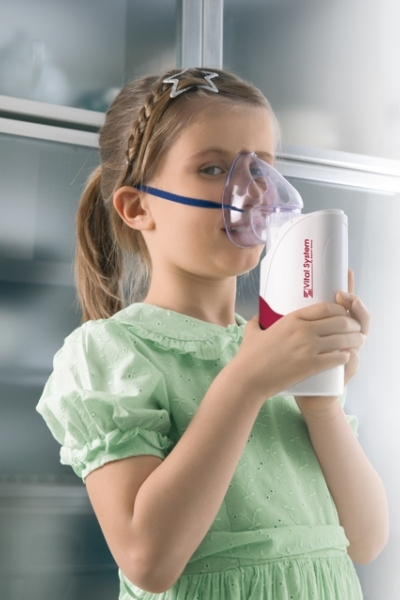 Pomocí inhalátoru je možné zvyšovat odolnost dýchacích cest