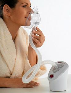 Inhalátor pomůže s regenerací dýchacích cest podrážděných alergeny