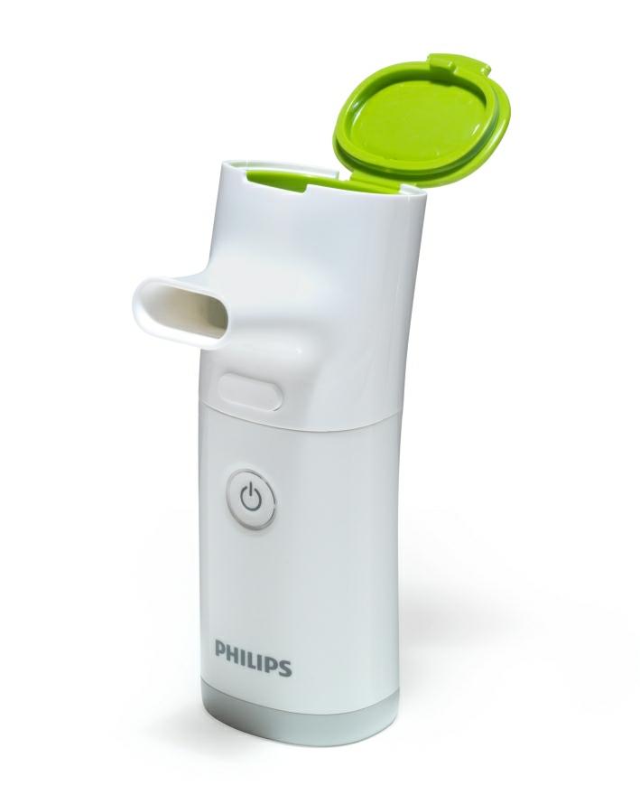 Mesh inhalátor InnoSpire Go Philips je ideálním pomocníkem na cestách
