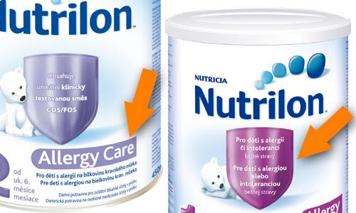 Pokud vám speciální mléko nedoporučí lékař, dobře čtěte etikety, abyste koupili skutečně takové, které je vhodné pro děti s ABKM