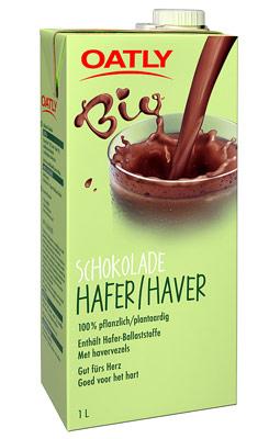 Ovesné mléko s čokoládou