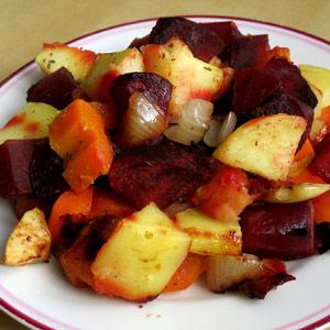 Pečená zelenina podle Petry M.