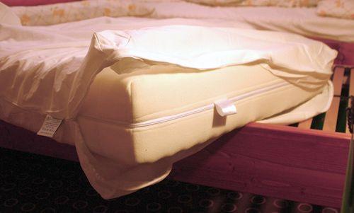 Protiroztočový povlak matrace
