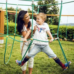 Dětské hřiště pro zábavu na čerstvém vzduchu