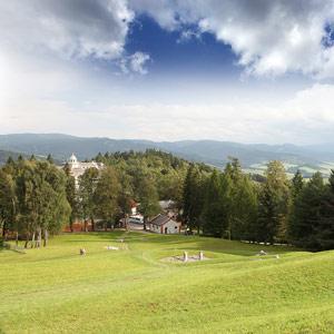 Priessnitzovy lázně leží uprostřed lesů