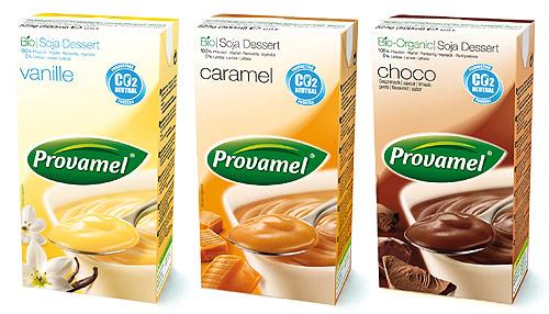 Pudinky Provamel se u nás prodávají už od 90. let