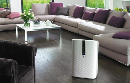 Čističky vzduchu se zvlhčovačem nabízí například značka Sharp