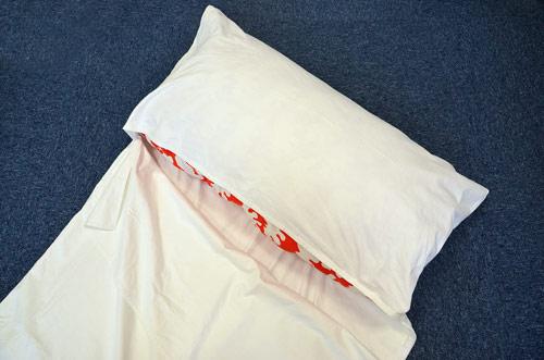 Protiroztočová spací vložka AntiMite Liner s vloženým polštářem