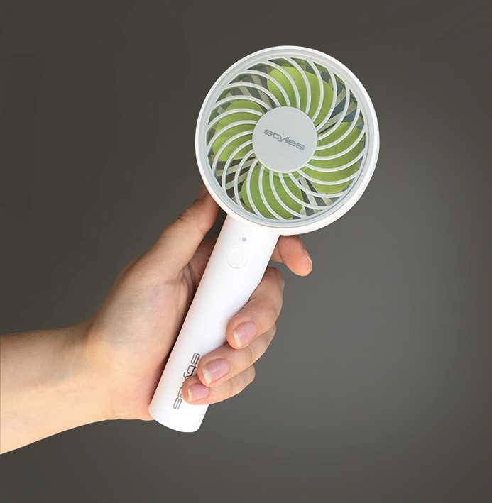 Osobní a kapesní ventilátor Stylies Lacerta