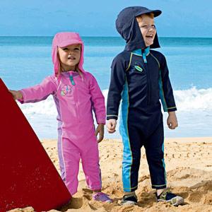 Oblečení se zvýšenou UV ochranou